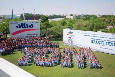 Bahrain aluminium smelter Alba posts 10 million LTI-free man-hours