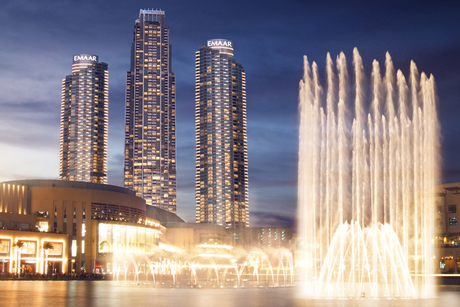 Emaar to open Dubai's Address Fountain Views in Oct 2019