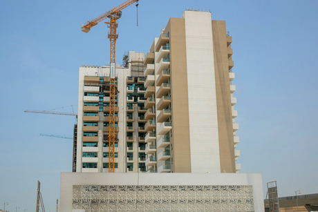 Construction of Azizi Developments' Farishta in Al Furjan 92% complete