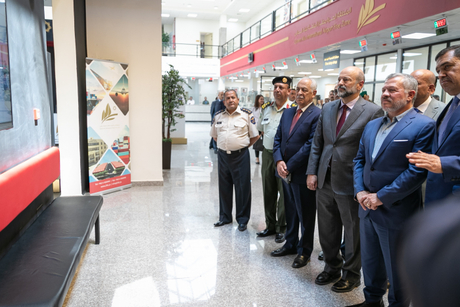 King Abdullah opens $54m free zone at Queen Alia Int'l Airport