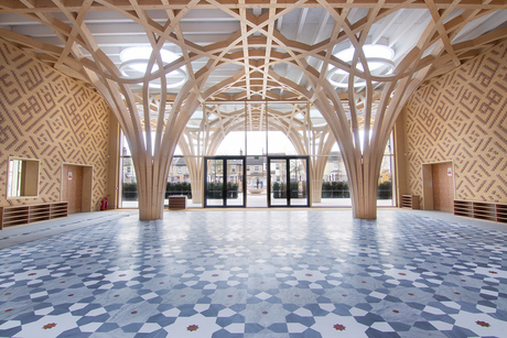 The Deluxe Group completes Europe's first eco-friendly mosque