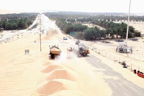 Musanada, ITC, Adnoc, DPM start Shah Gas Field-Mezairaa link road