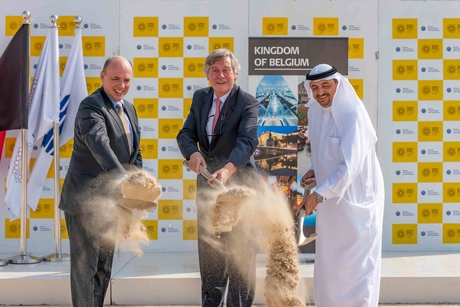 Besix breaks ground on Expo 2020 Dubai's Belgium Pavilion