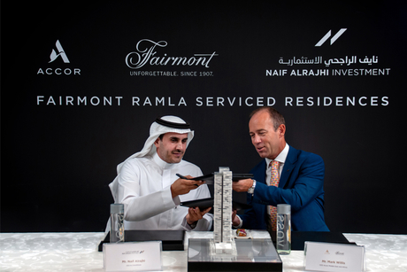 Accor Hotels, Naif Alrajhi to open Fairmont Ramla Riyadh in 2020