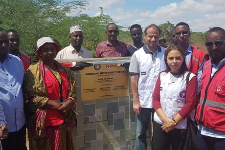 Kuwait Red Crescent Society opens two water wells in Kenya