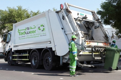 Tadweer reduces waste by 3.1% in 2019 in the emirate of Abu Dhabi