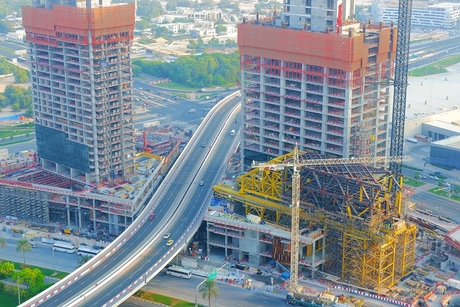 Ithra Dubai marks progress on One Za'abeel's The Link cantilever