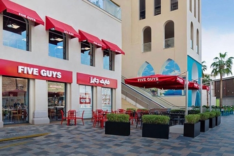 Five Guys outlet opens at Al Futtaim's Dubai Festival City Mall