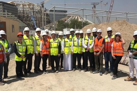 Progress reviewed on Expo 2020 Dubai's Campus Germany pavilion