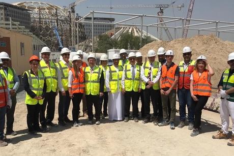 Progress reviewed on Expo 2020 Dubai's Campus Germany pavilion