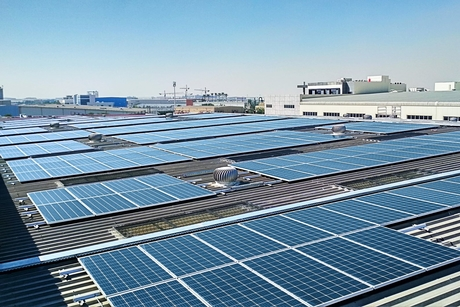 Cleanmax Solar fits 1,200kWp solar plant at Danube hub in Dubai