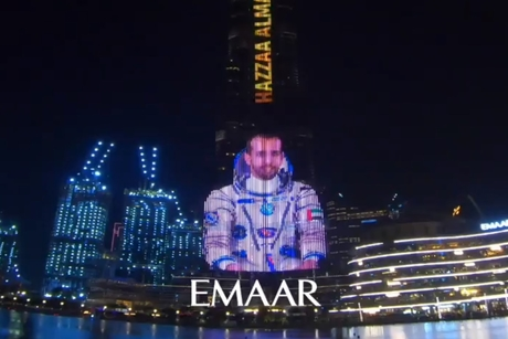 VIDEO: Burj Khalifa lights up as UAE readies to enter space