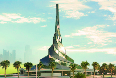 Dewa reviews Innovation Centre at Dubai's $13.6bn MBR Solar Park