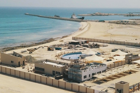 Musanada's women-only beach in Abu Dhabi 67% complete