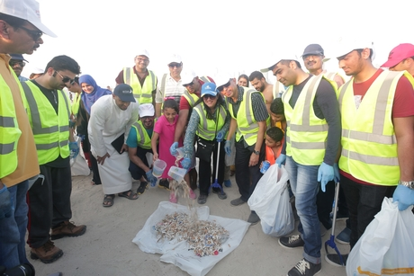 Dubai Municipality's beach clean-up drive nears completion