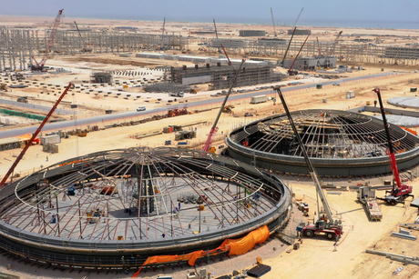 VIDEO: Construction update on Oman's Duqm Refinery project