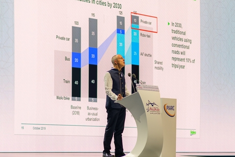 Smart mobility, climate change talks held at World Road Congress