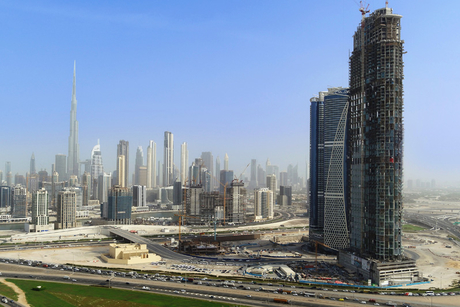 Construction of SLS Dubai Hotel & Residences 73% complete