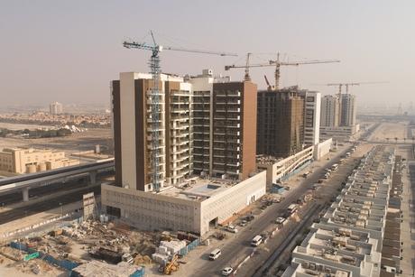 Construction of Azizi Developments' $72m Samia project 93% complete