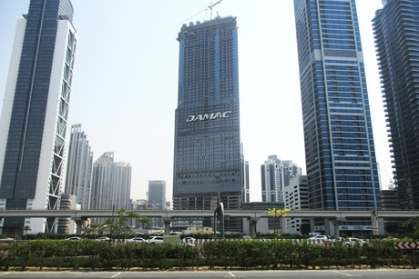 Damac tops out $155m Paramount Tower Hotel and Residences