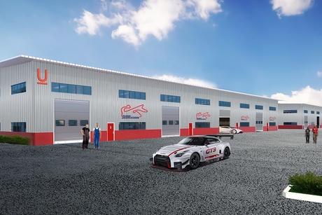 Union Properties Autodrome Business Park project 30% complete