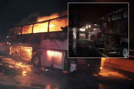 Bus, loader collision in Saudi Arabia's Madinah kills 35, injures 4