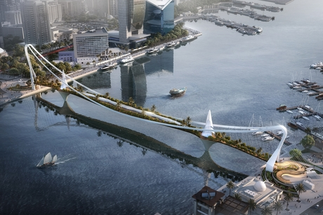 PICTURES: RTA's Dubai Sky Garden Bridge by LWK + Partners