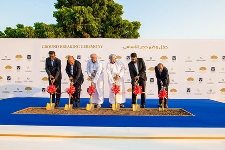 Construction begins on Eagle Hills Oman's Mandarin Oriental Muscat