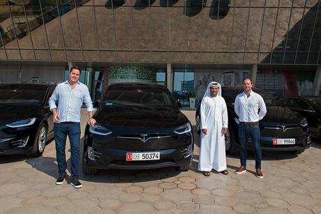 Masdar City, UAE's ekar bring Tesla EV car-sharing to Abu Dhabi