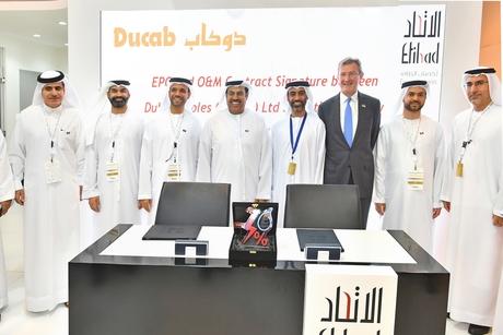 Wetex 2019: Etihad Esco, Ducab ink solar power plant agreement
