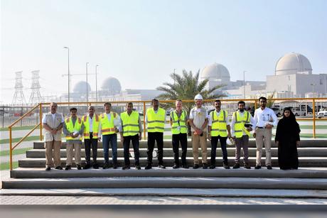 Fanr board reviews Barakah Nuclear Energy Plant in Abu Dhabi