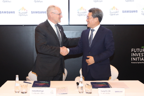 QIC, Samsung ink MoU to collaborate on Qiddiya projects