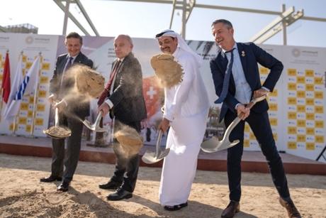 President Maurer kicks off work on Expo 2020 Dubai's Swiss Pavilion