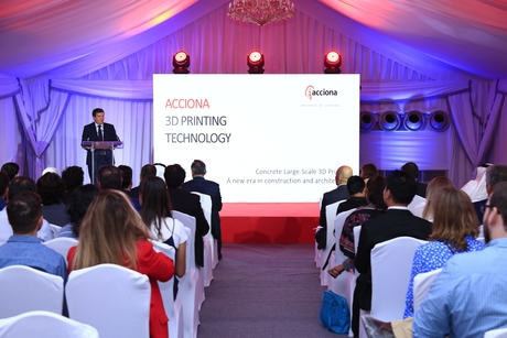 Acciona launches world's largest operational 3D printer in Dubai