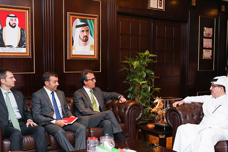 Dewa CEO, Spanish delegation discuss renewable energy projects