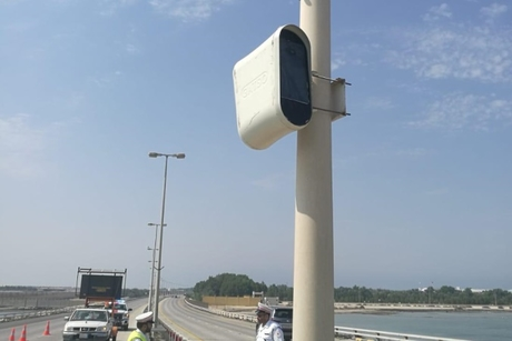 Four speed cameras installed on King Fahad Causeway