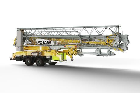 Manitowoc launches new Potain Hup crane at Batimat 2019