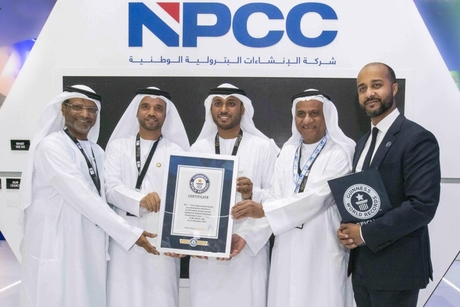 UAE's NPCC claims world record for Umm Lulu Gas Treatment platform