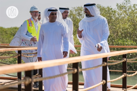 VIDEO: Sheikh Khalid tours Modon Properties' Mangrove Walks project