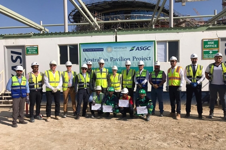 Pictures: Foundation work begins at Expo 2020 Dubai's Aussie Pavilion