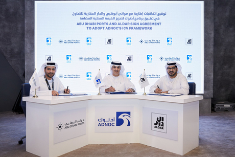 Adnoc, Abu Dhabi Ports, Aldar collaborate for ICV Programme