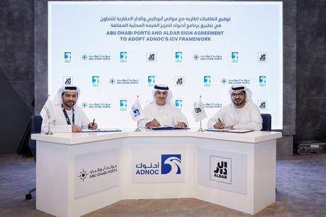 Adnoc, Abu Dhabi Ports, Aldar collaborate for ICV Programme