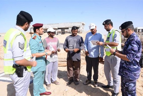 Sharjah Police campaigns to stop thefts at under-construction houses