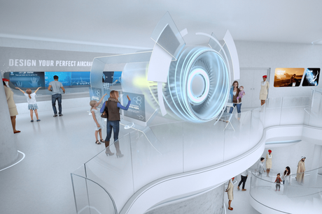 PICTURES: Emirates reveals interior plans for Expo 2020 Dubai pavilion