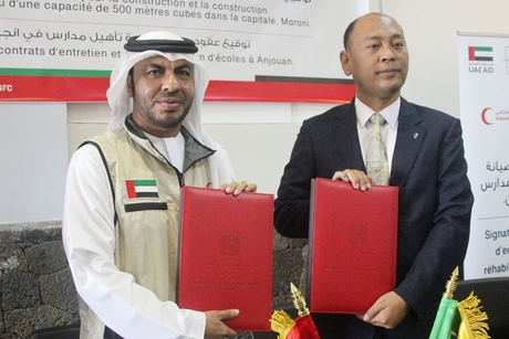 Emirates Red Crescent to develop projects worth $3.26m in Moroni