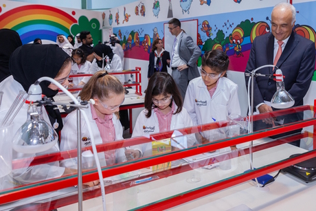 Dubai Municipality, Henkel launch 400m2 Forscherwelt children's lab