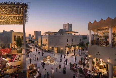 Foundation stone laid for Saudi Arabia's $17bn Diriyah Gate Project