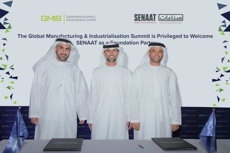 UAE's Senaat joins GMIS in global alliance to boost manufacturing