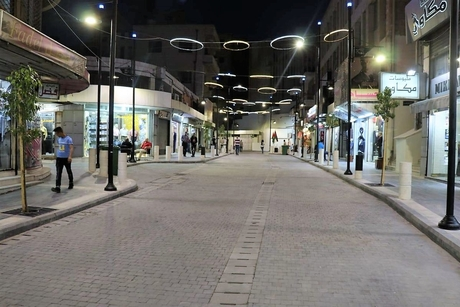 Jordan's Gam revamps King Ghazi Street as 'pedestrian-friendly'