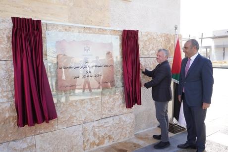 Jordan King opens King Abdullah II Park in Amman's Mugabalein
